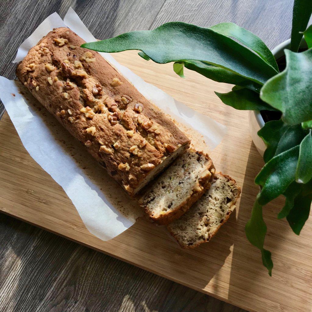 BANANA BREAD (ou a 1ª receita que peguei de um site holandês)
